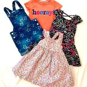 2T Wardrobe bundle of 4 items